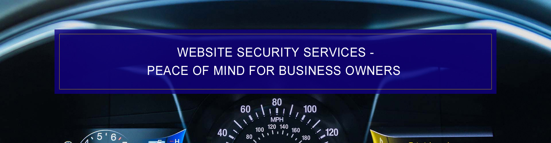 Dashboard Interactive - Website Security Services Peace Of Mind Business Owners