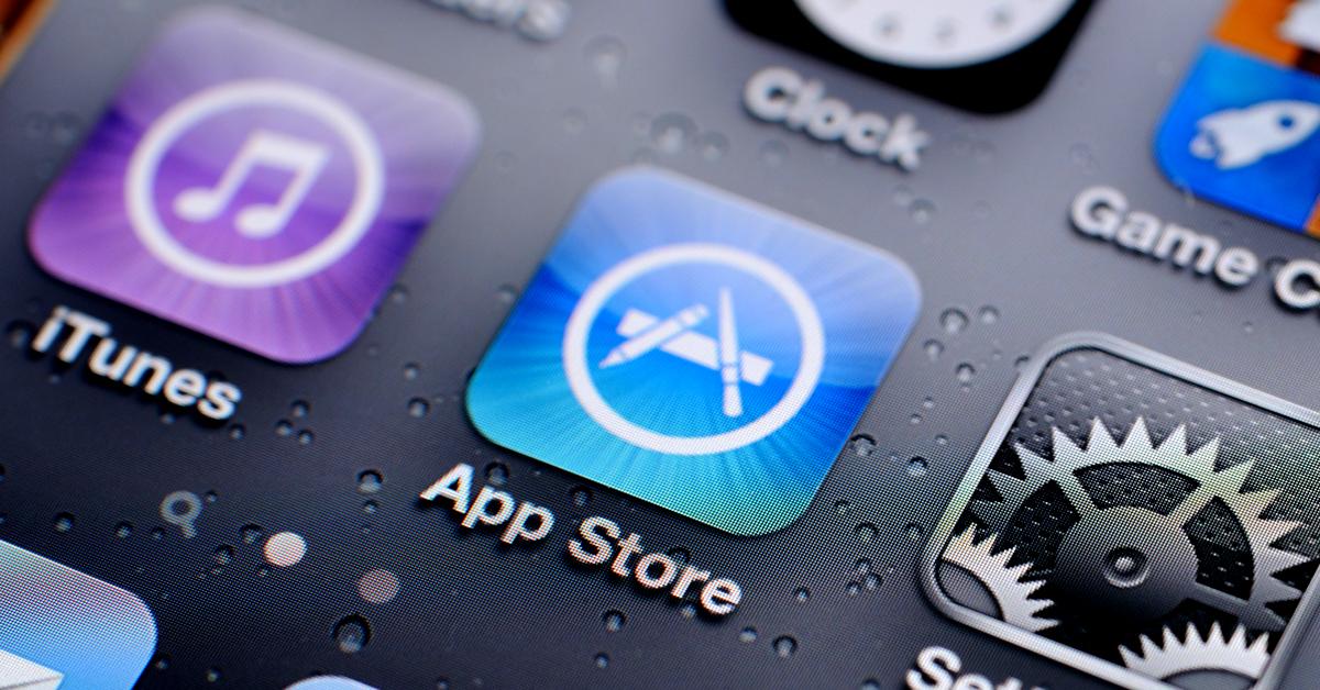 app store editorial image