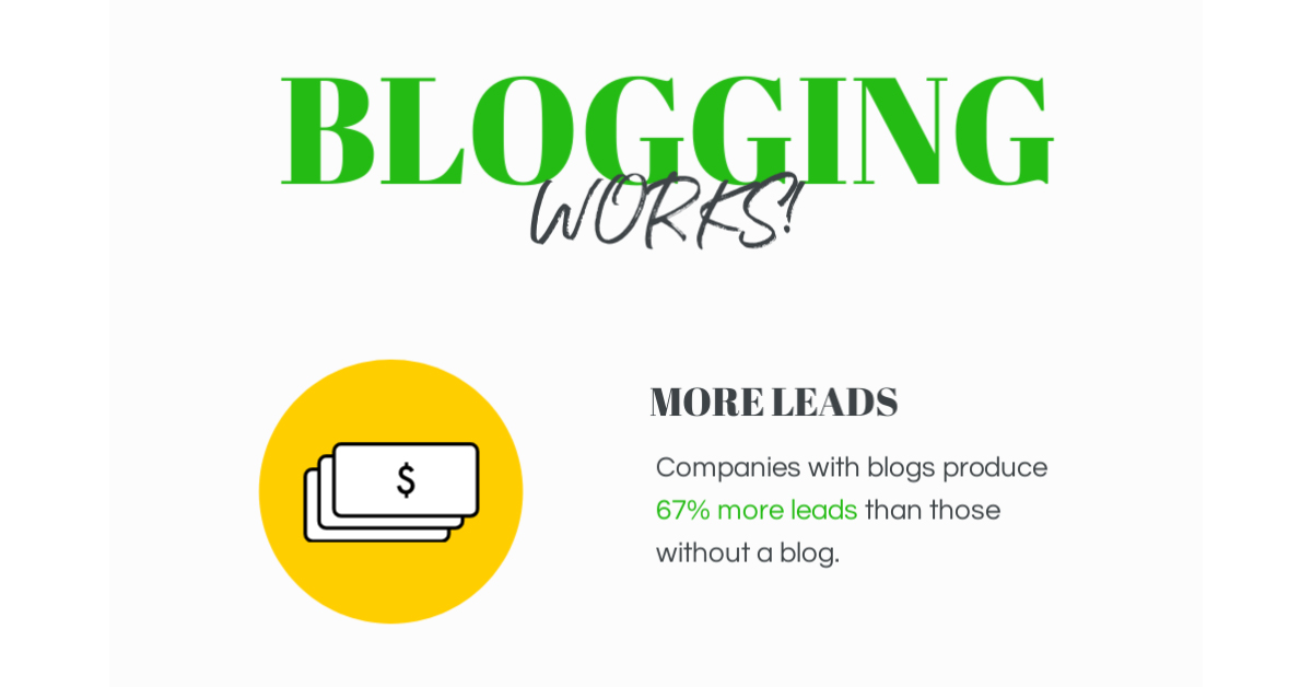 blogging increases website traffic for smart business
