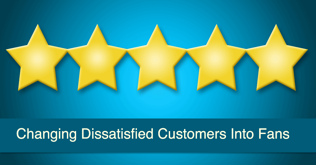 Earn Five Stars from Satisfied Customers