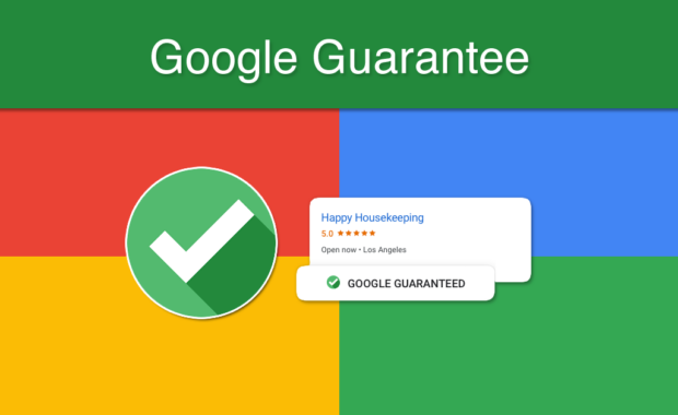 Google guarantee representation example in search