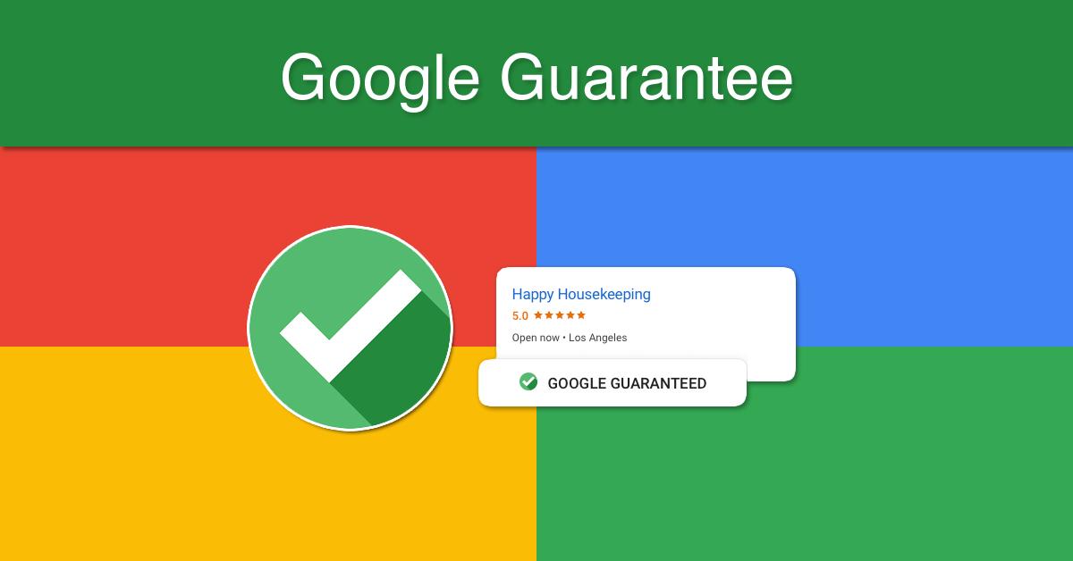 Google guarantee representation example in search